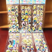 10 Sheets Despicable me 2 Minion stickers 3D Bubble Teacher ...