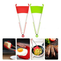 Popular On TV Hot Sale 2n1 Spatula Tongs CleverTongs Non Sti...