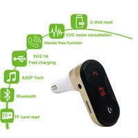 Auto C8 FM Transmitter MP3 Player Modulator Freisprecheinrichtung Wireless Bluetooth Car Kit mit USB Car Charger Unterstützung TF U Disk Play