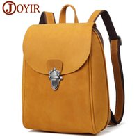 Wholesale Genuine Leather Women Backpack Vintage Travel Bags...