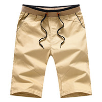 Calções de Corrida Shorts Casuais dos homens M-4XL Verão Dos Homens Calças Retas Calções de Praia de Algodão Casuais Calças Masculinas