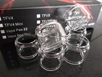Genişletilmiş Pyrex Cam Tüpler Şişman Boy Resa Bebek Resa için Temizle Yedek Kol Prens TFV12 Prens kobra
