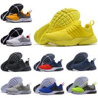 newest collection b87d8 6a9bd Venta al por mayor nuevo PRESTO 5 BR QS zapatillas Breathe negro blanco  amarillo rojo para