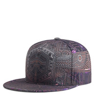 Totem Printing Caps - Men Women Couple Hip Hop Cap Spring Summer Autumn High Quality Polyester Material Punk Snapbacks