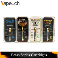 Connected Abracadabra Brass Knuckles Cartridges Gold Glass T...