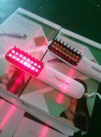 反脱毛レーザーのマイクロ電流無線周波数光子LED機械毛再成長櫛赤LED血液循環を促進する