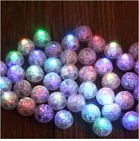 10 قطعة / الوحدة جولة الكرة بهلوان أضواء led بالون البسيطة فلاش مصابيح مضيئة ل فانوس بار عيد الميلاد حفل زفاف الديكور
