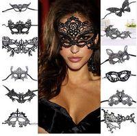 Mode Sexy Dentelle Masque Pour Les Yeux Vénitien Mascarade Ball Party Costume De Déguisement Dame Cadeaux Masques De Partie Fournitures