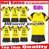 4883fd8f3b93b Niños 2018 2019 REUS kits de camisetas de fútbol SANCHO inicio 18 19  BATSHUAYI PHILIPP KAGAWA