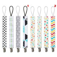 4Pcs Lot Baby Pacifier Clip Chain Ribbon Dummy Holder Chupet...