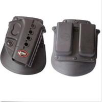 Pistola Evolution Holster RH Paddle GL-2 ND para Gl ock 17/19/22/23/27/31/32/34/35 6900RP Bolsa Mag doble