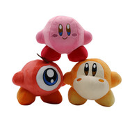 Hot Sale 3 Style 14cm Cartoon Kirby Plush Stuffed Doll Toy F...