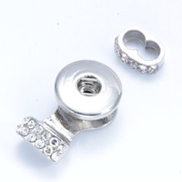Noosa Chunks ginger Snaps Jewelry Crystal 18MM Snap Button B...