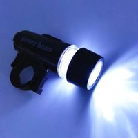 1 unids 5 LED Power Beam luz delantera de la lámpara de la antorcha de la luz de la luz delantera delantera para la bicicleta de la venta caliente