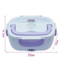 12 V Mini Electric Car Heat Isolamento Thermo Lunch Box Ricarica fornello di riso caldo Multi funzionale Plug plastica Seal Seal posate
