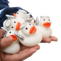 20 pcs set Baby Bath Toys angel Duck Swimming Water Toys Bat...