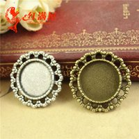 A4251 25MM Fit 16MM Wholesale alloy retro metal jewelry acce...