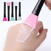 Professionelle Silikon Gesichtsmaske Pinsel make-up Pinsel für Schlamm make-Up Pinsel make-Up Pinsel Kosmetische Werkzeuge für Stiftung Pulver Schlamm