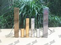 EPacket Hot Brand New Makeup Eyes Argent / Or Box Mascara Cils Mascara Imperméable! Noir