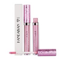Handaiyan 6 Farben Make-up Metallic Wasserdichte Diamant Shine Lippenstift Lipgloss Langlebiger No Stick Cup Freies Verschiffen 277