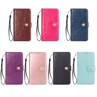 Oily Leather Wallet Phone Case for iPhone X 5 6 7 8 Plus and...