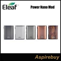 Eleaf Istick Power Nano Box Mod 40W TC Box MOD VWバイパススマートTC Ni、Ti、SS、TCR-M1、M2、M3モード小型サイズデュアルサーキット保護100%Genius