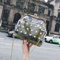 Miyahouse New Portable Jelly Bags Women Composite Bag Pearl ...