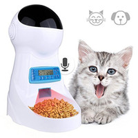 3L Pet Cat Automatic Feeder With Voice Recording   LCD Scree...