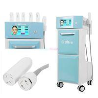 FDA Standart 5 Kartuşlar Vmax HIFU Yüz Kaldırma Makinesi Yüksek Yoğunluklu Odaklanmış Ultrason Kırışıklık Temizleme Güzellik Sistemi