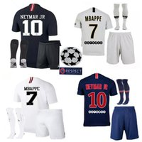2018 2019 kit adulto Paris kits Psg mbappe Camisolas de futebol 18 19 Paris VERRATTI CAVANI DI MARIA PASTORE CAMISAS MAILLOT DE FOOT Germain