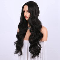 8A Glueless Full Lace Wigs Virgin Brazilian Natural Wavy Hum...