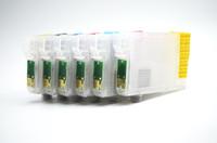 엡손 엡손 스타일러스 사진 용 칩이있는 81N 리필 잉크 카트리지 1410 / 1430W, R270 / R290 / RX590 / RX610