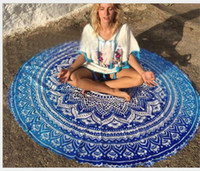 Beach Shawl Round Mandala Towels Printed Tapestry Hippy Boho...