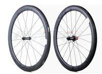 ايفو 700c 50 ملليمتر عمق 25 ملليمتر عرض الطريق دراجة عجلات الكربون الفاصلة / أنبوبي الطريق دراجة الكربون العجلات مع ud ماتي النهاية
