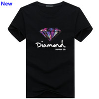 Fashion t shirt diamond men women Clothing 2018 Casual short...