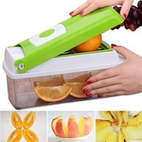 12pcs  Set Multifunction Vegetable Slicer Shredder Fruit Veg...