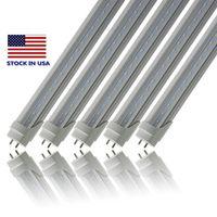 Stock en EE. UU. Envío gratis 4foot G13 2pin 22w LED luces del tubo LED bombillas 25 unids / lote lastre Bypass tubo