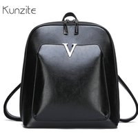 Leather Backpack Vintage Women Backpack for Girls Simple Large Capacity Travel Shoulder Bags for Women Bagpack Sac