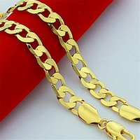 Collier de vendredi noir Thanksgiving Men plaqué or 24K haute collier imitation or non-fade