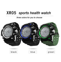 2018 Real Xr05 Sports Health Smart Watch Soporte Altitud Temperatura de Presión Barométrica Uv Monitoring Bluetooth Reloj de Pulsera para Android Ios