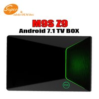 M9S Z9 S912 Octa Core Android 7.1 Smart Tv Box 2G + 16G Android7.1 OTT Box 5G Wifi HDMI2.0 Bluetooth 4K IPTV Media Player