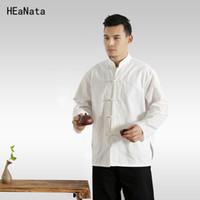 Tangzhuang Cina vento uomo stile cinese retrò uomo cheongsam giacca per il tempo libero vestiti Cina Oriental Mens Abbigliamento 4XL