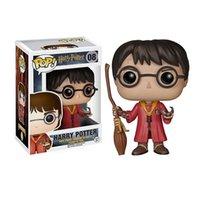 Funko Pop Harry Potter - Figurine vinyle de Quidditch Harry avec son boîtier # 08, cadeau de jouet de bonne qualité