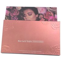 18 Colors Rose Gold Eyeshadow Palette Remastered Makeup Pigm...