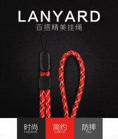 Handgelenk-Bügel-Handabzugsleine für iPhone 7 8 Xiaomi Redmi 4X USB-Blitz-Antrieb-Schlüssel PSP-Telefon badgehouder keycord Kurzschluss 300pcs / lot