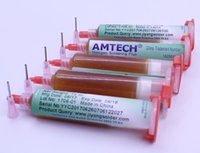 Oryginalny 5 sztuk / partia 10cc Amtech RMA-223-UV FLUX Paste Reballing Lutownice Lutowce Flux + Igły do naprawy BGA Przeróbki