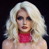 Hot New Sexy Style Blonde 613# Short Curly Wavy Bob Wigs Hea...