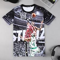 2018 Yaz Moda Giyim erkek BASKETBOL T Shirt Komik Baskılı tişört İyi Kalite Ücretsiz kargo Ile Tops