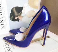 새로운 CYMN 블랙 뾰족한 발가락 극단적 인 붉은 바닥 높은 발 뒤꿈치 Stiletto 여성 펌프 웨딩 파티 드레스 신발 여성 펌프 박힌 발 뒤꿈치 크기 36-42