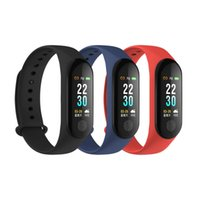 Smart Bracelet M3 Plus Band 3 Heart Rate Blood Pressure Call...